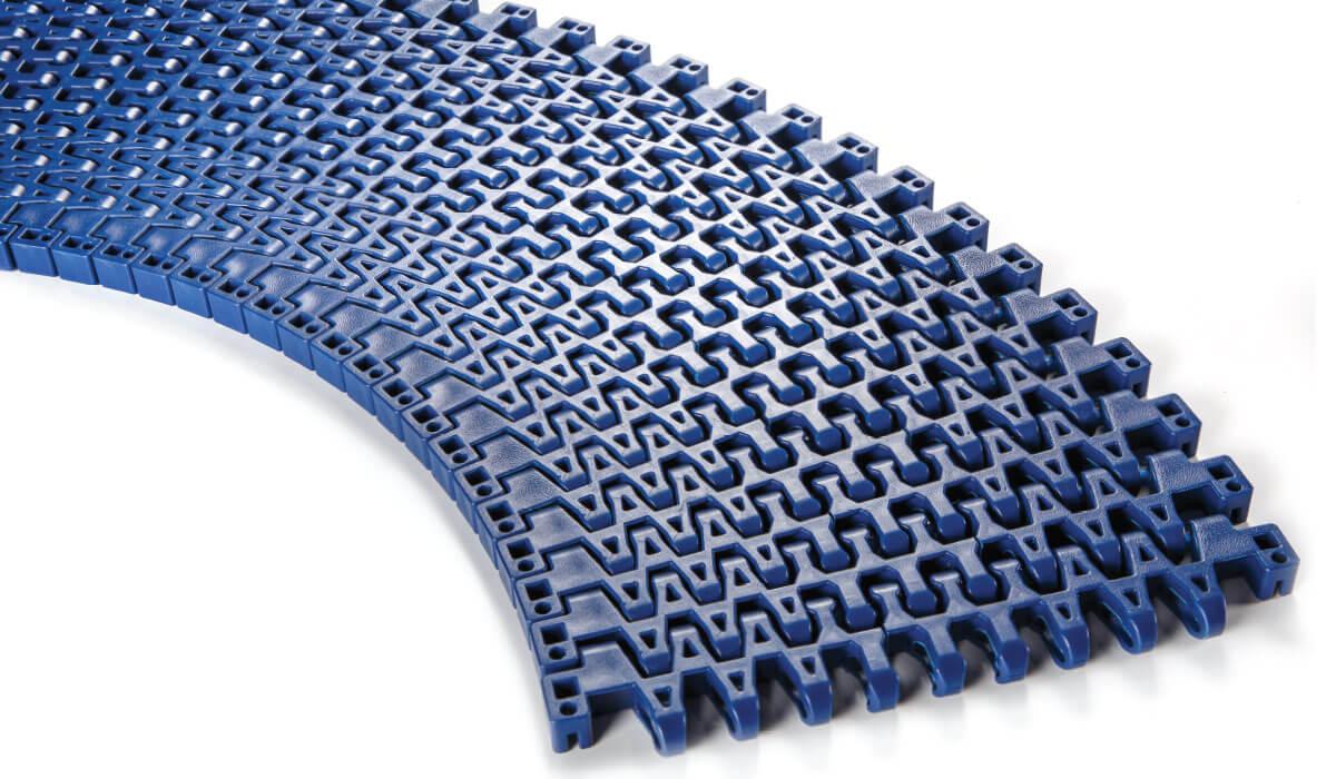 Nastri modulari curvilinei